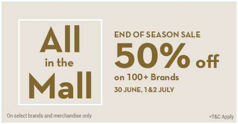 72b9dd41 All in the Mall - End of Season Sale 50% off on 100+ brands