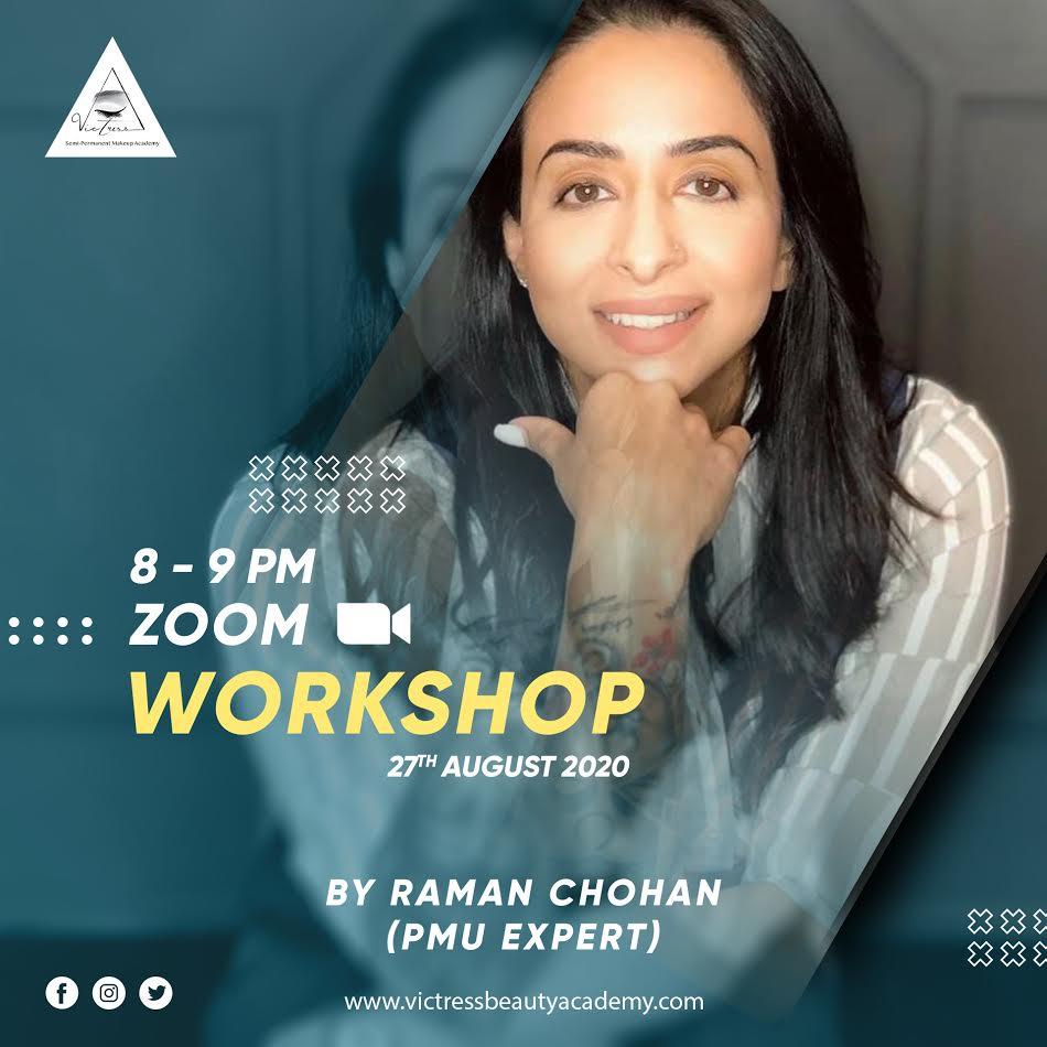 Raman Chohan - Brow Mapping Workshop