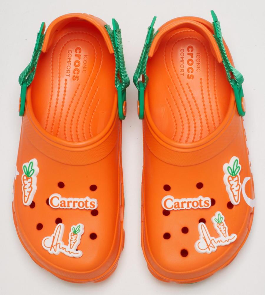 Carrots X Crocs Classic Terrain Clog