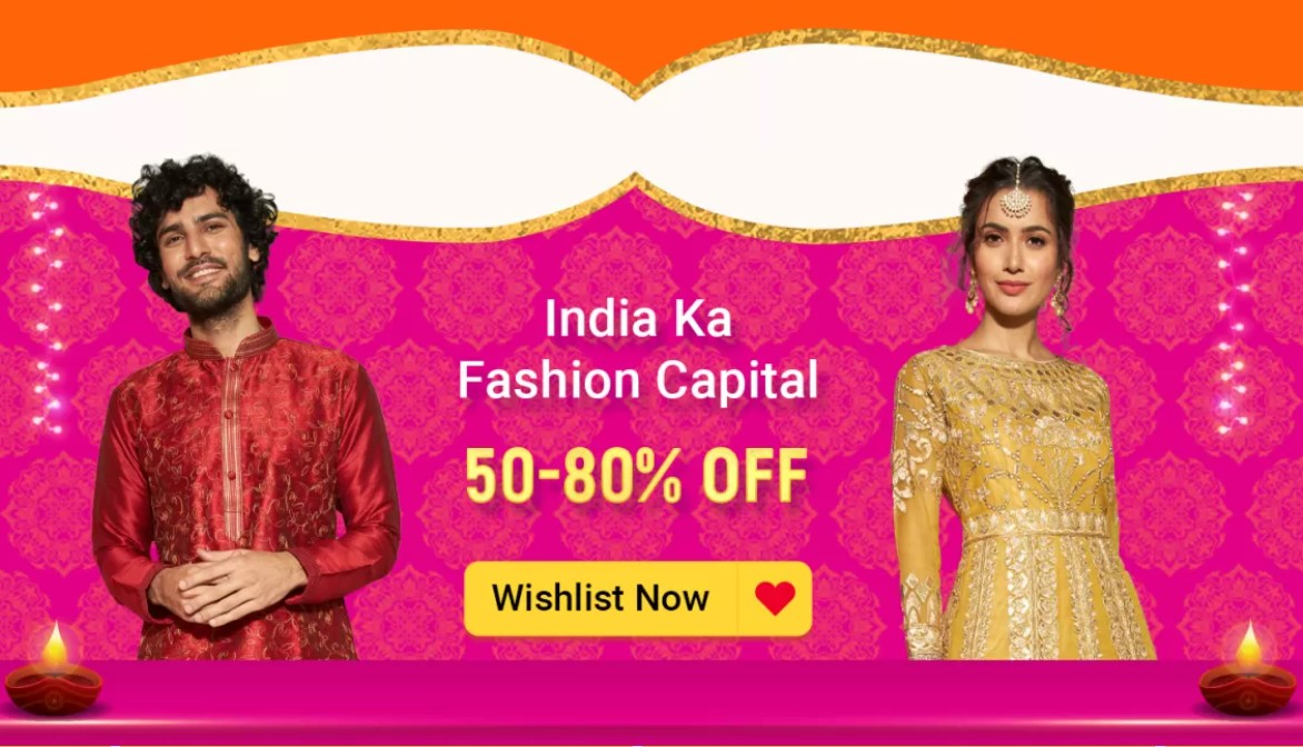 India Ka Fashion Capital - Diwali Sale
