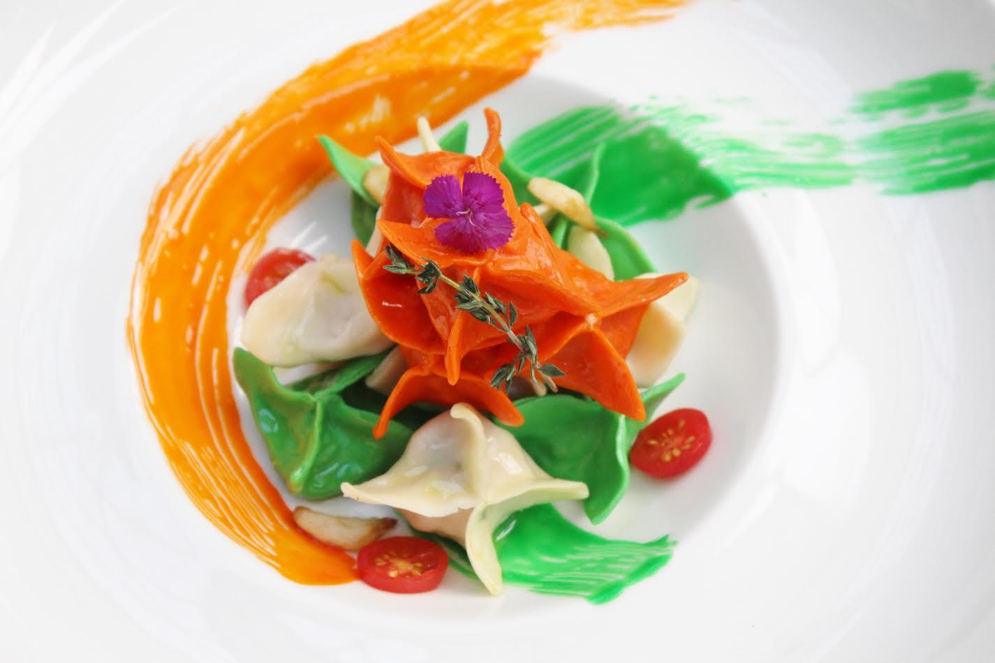 Independence Day Recipe - Stuffed Ravioli by Chef Rajan Rajani, Executive Chef, Hotel Sahara Star