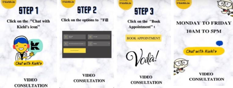 ASIA'S first ever Virtual Consultation live now only on Kiehl's India E-Boutique