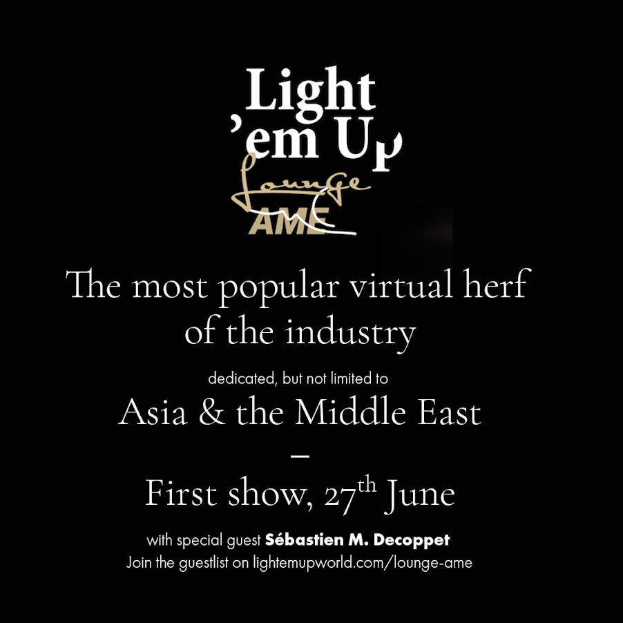 """The world's premier virtual cigar lounge """"Light 'em Up"""" comes to Asia and the Middle East"""