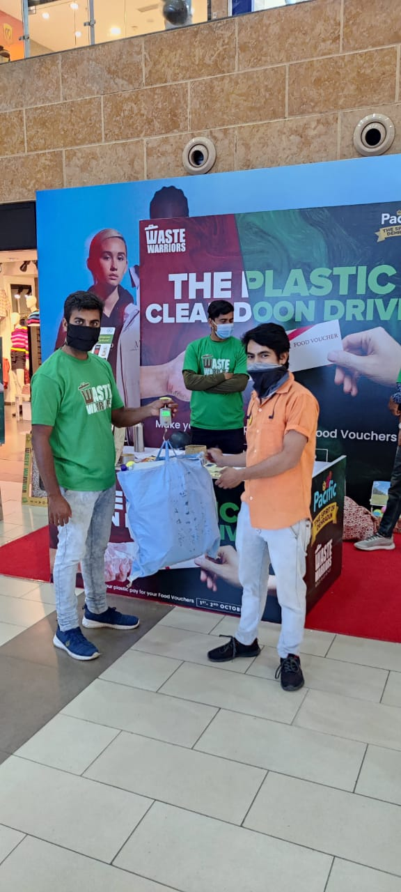 Pacific Mall Dehradun launches-'The Plastic Clean Doon Drive'