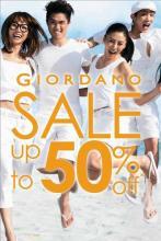 Giordano Sale - Upto 50% off