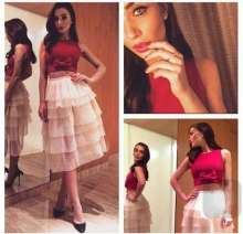 Amy Jackson in Yoube Jewellery for an event
