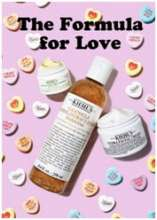 Find your Formula for Love with Kiehl's Skincare Essentials